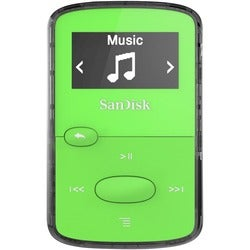 SanDisk SDMX26-008G-G46G 8 GB Flash MP3 Player - Green