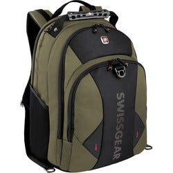 "Victorinox Carrying Case (Backpack) for 16"" Notebook - Olive, Black"