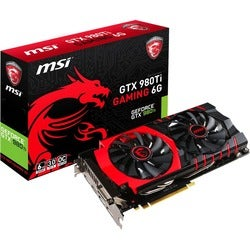 MSI GTX 980Ti GAMING 6G GeForce GTX 980 Ti Graphic Card - 1.18 GHz Co