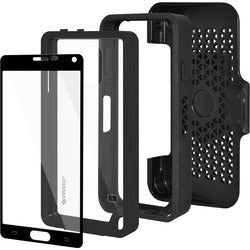 Amzer Crusta Carrying Case (Holster) for Smartphone - Black