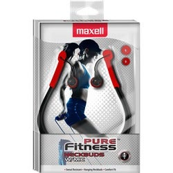 Maxell Pure Fitness Neck Buds with Mic