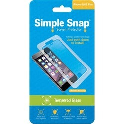 ReVamp Simple Snap Screen Protector (iPhone 6/6S Plus) (Tempered Glas