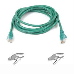 Belkin High Performance Cat6 Cable - 14ft - 1 x RJ-45, 1 x RJ-45 - Patch Cable - Green