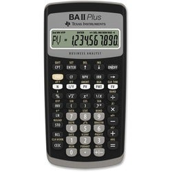 Texas Instruments BAIIPLUS Calculator