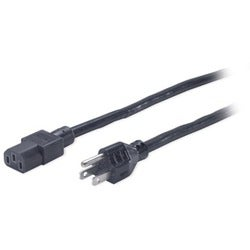 APC 8-foot Black Power Cord