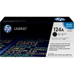 HP 124A (Q6000A) Black Original LaserJet Toner Cartridge
