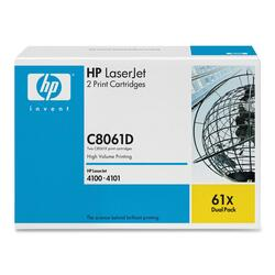 HP Black Toner Cartridge Dual Pack