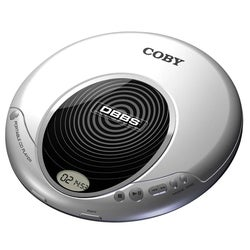 Coby Silver Slim Personal CD Player