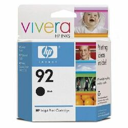 HP No. 92 Black Ink Cartridge