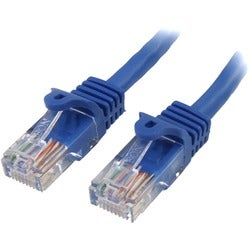 StarTech.com 3 ft Blue Snagless Cat5e UTP Patch Cable