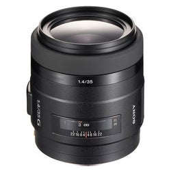 Sony SAL-35F14G 35mm f/1.4 G-Series Wide-Angle Lens