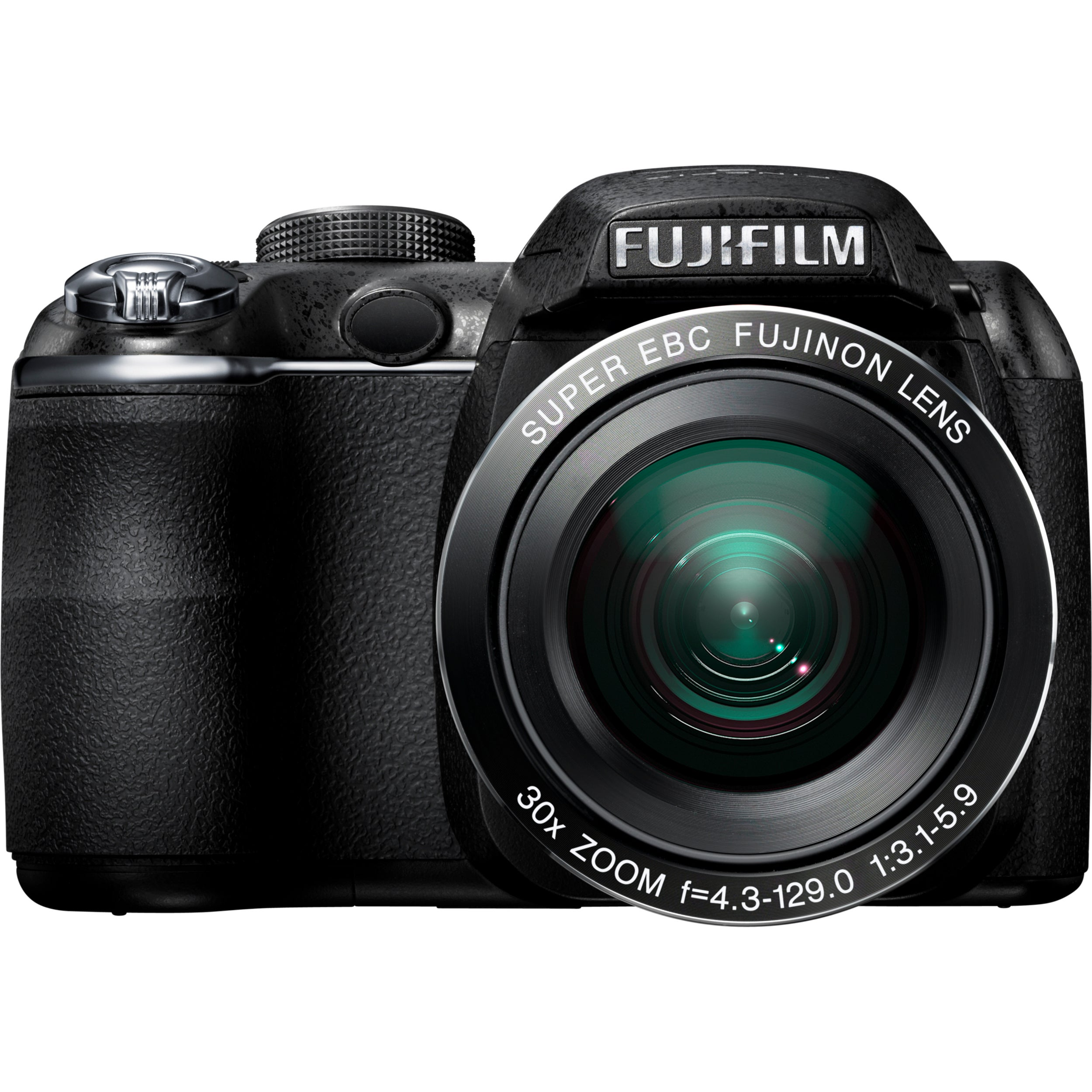 Fujifilm FinePix S4000 14 Megapixel Bridge Camera - Black