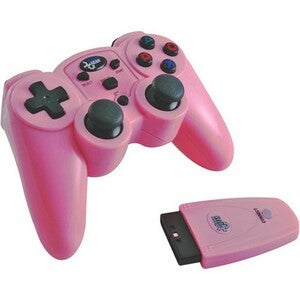 PS2 - Magna Force 2.4Ghz RF Wireless Controller Pink by dreamGEAR