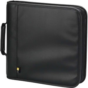 Case Logic Black Fabric CD/DVD Binder with 128-disc Capacity