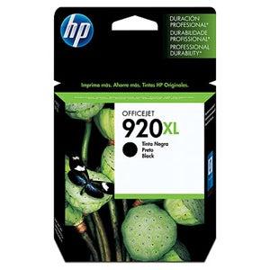 HP Genuine No. 920xl Black Ink Cartridge