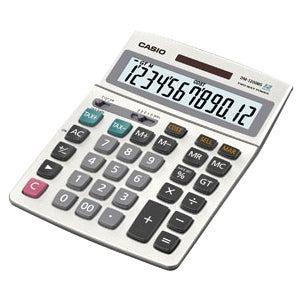 Casio DM-1200MS-S-IH Simple Calculator