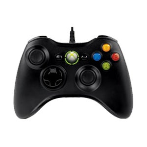 Xbox 360 - Wired Controller (Black)