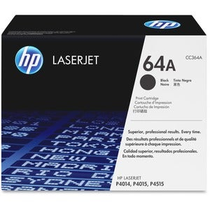 HP 64A Laserjet Toner Cartridge in Black for Trouble-free Printing