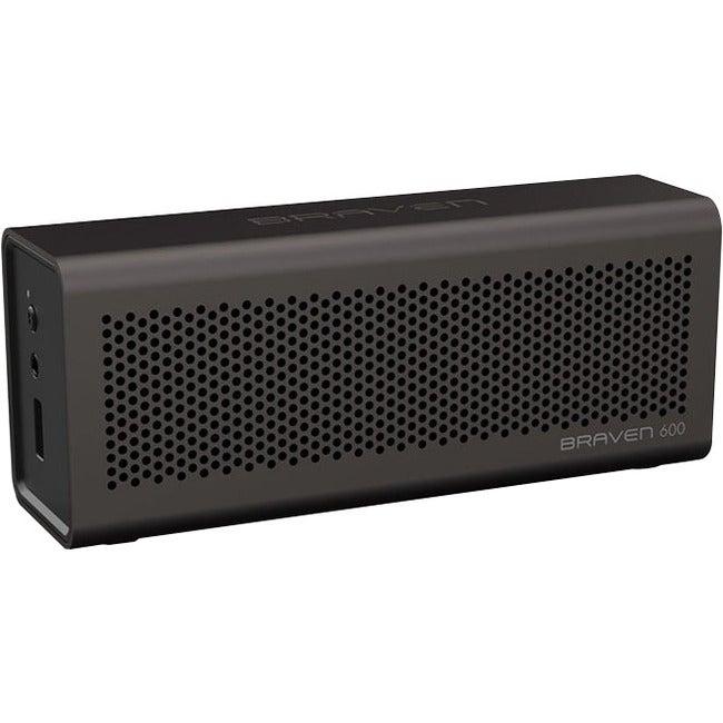 Braven 600 Speaker System - 3 W RMS - Wireless Speaker - Ash Gray