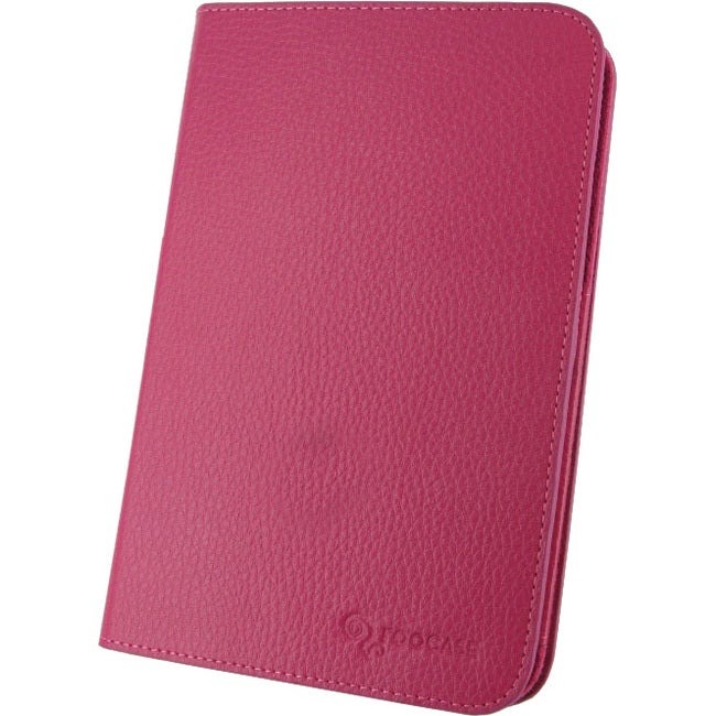 """rooCASE Dual-View Carrying Case (Folio) for 7"""" Tablet - Magenta"""
