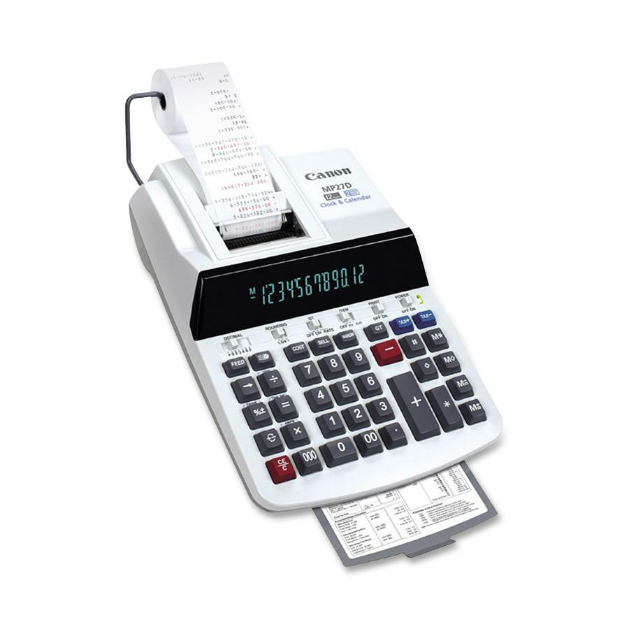 Canon 12-Digit Business Function Print Calculator