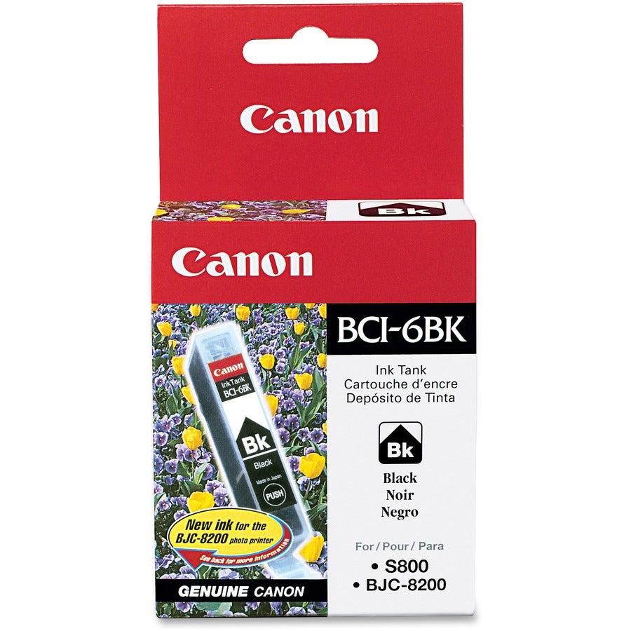 Canon BCI-6Bk Black Ink Cartridge