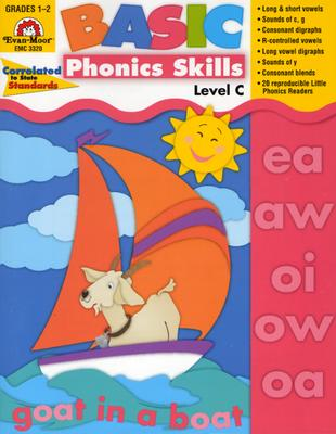 Basic Phonics Skills, Level C (Paperback)