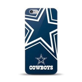 IPHONE 6 PLUS NFL OVERSIZED SNAP BACK TPU CASE DALLAS COWBOYS