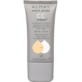 Almay Smart Shade CC Cream, Light [100] 1 oz