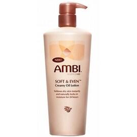 Ambi Soft & Even Creamy Oil Lotion 12 oz