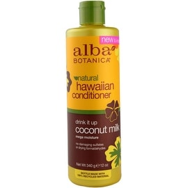Alba Botanica Natural Hawaiian Conditioner Coconut Milk, 12 oz