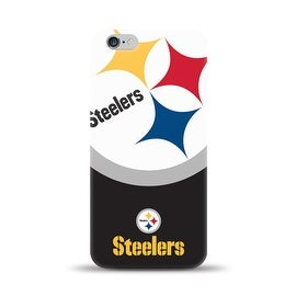 IPHONE 6 PLUS NFL OVERSIZED SNAP BACK TPU CASE PITTSBURG STEELERS