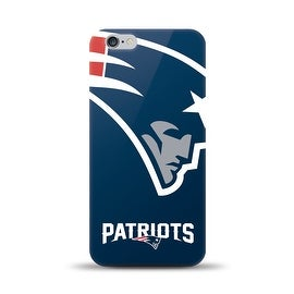 IPHONE 6 PLUS NFL OVERSIZED SNAP BACK TPU CASE NEW ENGLAND PATRIOTS