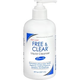 Free & Clear Liquid Cleanser 8 oz