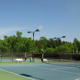 10' x 10' Tennis Court Wind Screen, Windscreen (MN-TM-B1010)