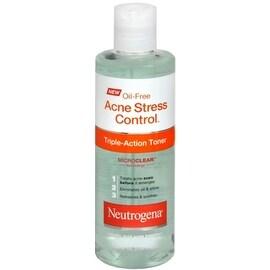 Neutrogena Oil-Free Acne Stress Control Triple Action Toner 8 oz