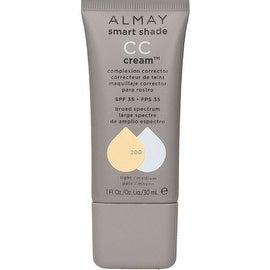 Almay Smart Shade CC Cream, Light/Medium [200] 1 oz