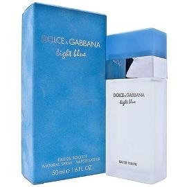 Dolce & Gabbana Light Blue Women's 1.6-ounce Eau de Toilette Spray