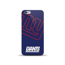 IPHONE 6 NFL OVERSIZED SNAP BACK TPU CASE NEW YORK GIANTS