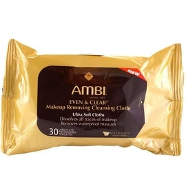 Ambi Even & Clear Make-up Removing Cloths, 30 Count