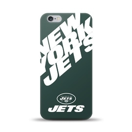 IPHONE 6 PLUS NFL OVERSIZED SNAP BACK TPU CASE NEW YORK JETS