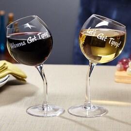 Lets Get Tipsy! Wine Glasses