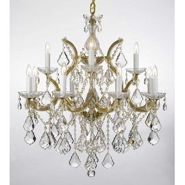 Swarovski Crystal Trimmed Theresa Crystal Chandelier Lighting H30 x W28