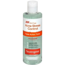Neutrogena Oil-Free Acne Stress Control Triple Action Toner 8 oz