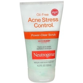 Neutrogena Oil-Free Acne Stress Control Power-Clear Scrub 4.20 oz