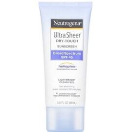 Neutrogena 3-ounce Ultra Sheer Dry-Touch Sunscreen SPF 45