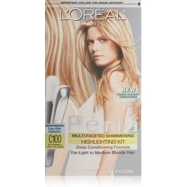 L'Oreal Paris Feria Multi-Faceted Shimmering Highlighting Kit Extremely Light Blonde [C100]