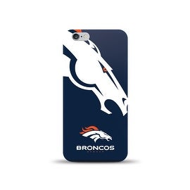 IPHONE 6 NFL OVERSIZED SNAP BACK TPU CASE DENVER BRONCOS