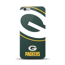 IPHONE 6 PLUS NFL OVERSIZED SNAP BACK TPU CASE GREEN BAY PACKERS