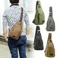 Vintage Canvas Satchel School Military Men's Hiking Shoulder Bag Messenger Bag